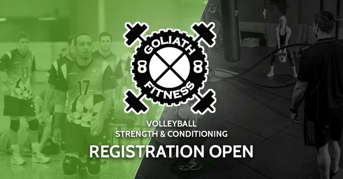 Registration Now Open - Volleyball Strength & Conditioning