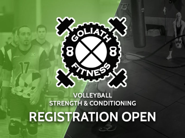 Registration Now Open – Volleyball Strength & Conditioning Training