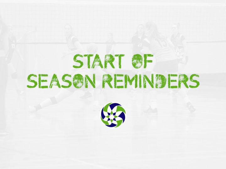 Start of season reminder